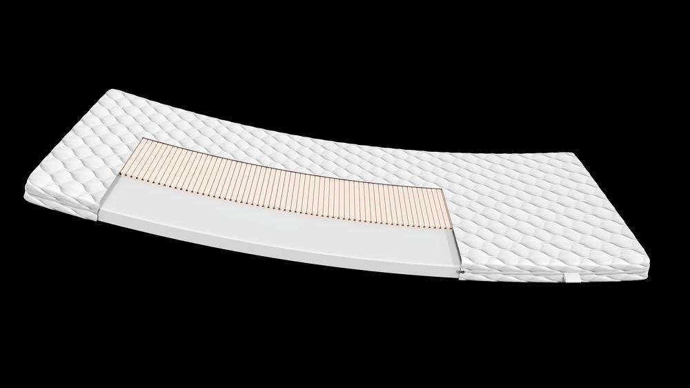 Materac piankowy z lateksem 90x160 MINNY
